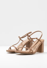 Rubi Shoes by Cotton On - HANNAH THIN STRAP HEEL - Sandals - tan - 4