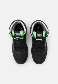 Puma - RALPH SAMPSON MID ROYAL FAM UNISEX - Sneakersy wysokie - black/elektrogren/dresden blue - 3