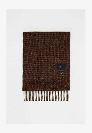 HOUNDSTOOTH - Sjal - umber brown