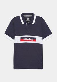 Timberland - SHORT SLEEVE  - Polo shirt - navy - 0