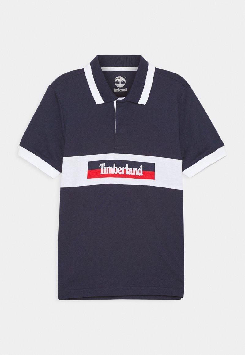 Timberland - SHORT SLEEVE  - Polo shirt - navy