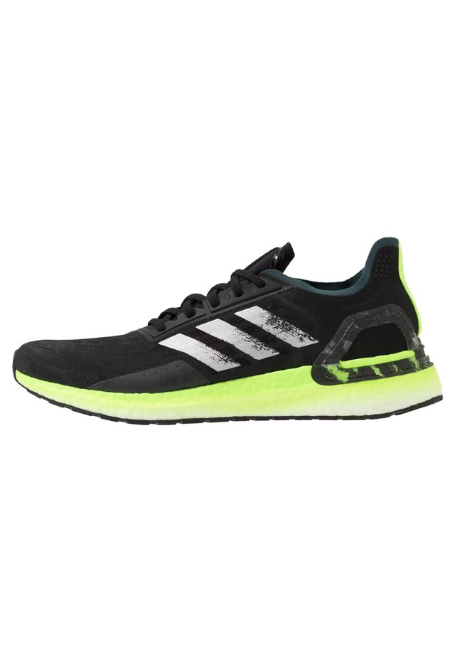 ULTRABOOST PB - Obuwie do biegania treningowe - core black/silver metallic/signal green