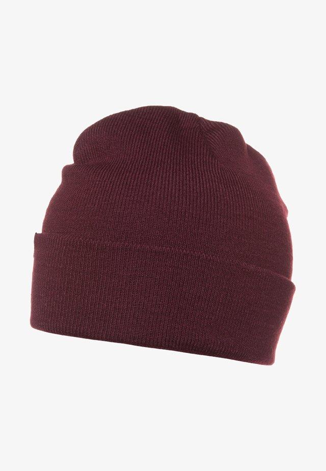 ALASKA BEANIE HAT - Pipo - maroon