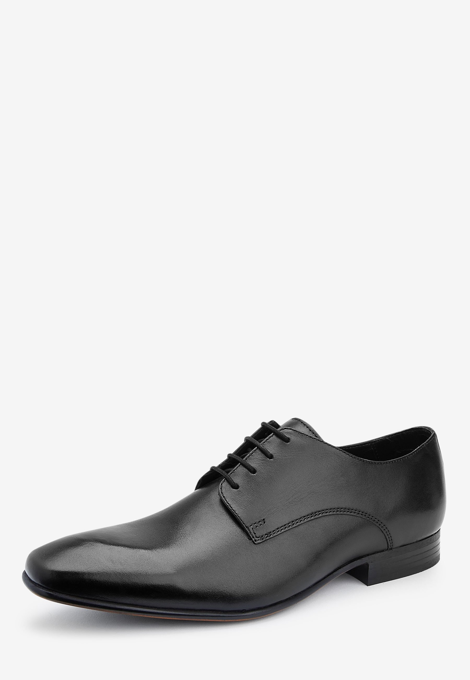 Next Tan Derby Shoes - Business Sko Black