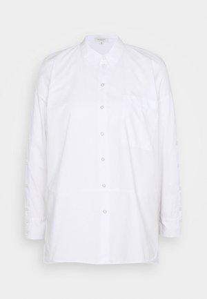 BLOUSE LOOSE BUTTON PANEL - Overhemdblouse - white