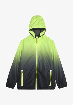 KALIQO  - Waterproof jacket - neon gelb