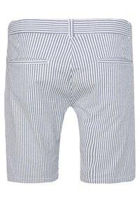 WE Fashion - WE FASHION HEREN GESTREEPT CHINOSHORT - Shorts - blue - 5