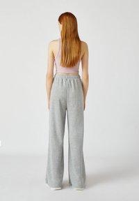 PULL&BEAR - Kalhoty - grey - 2