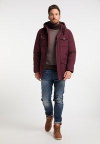 DreiMaster - Winter coat - bordeaux - 1