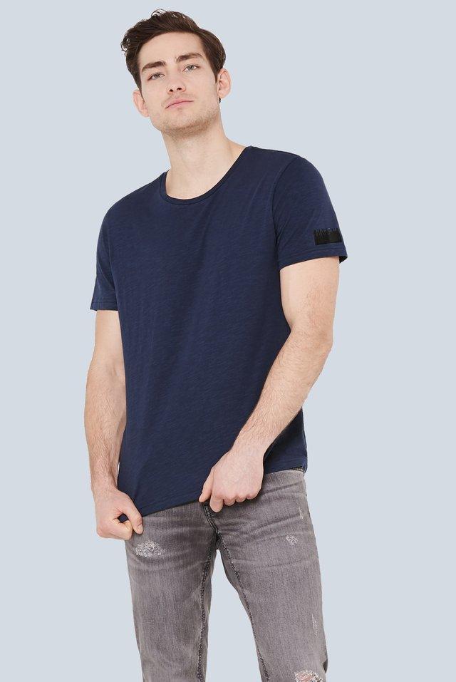 MEL-BOURNE - Basic T-shirt - middle blue