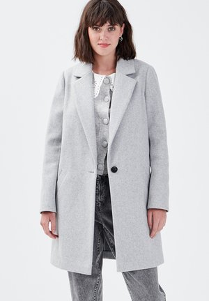GEKNÖPFTER - Classic coat - gris clair