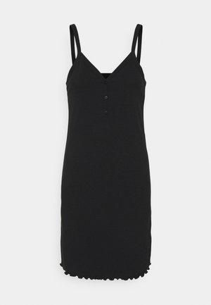 VMARIA SINGLET SHORT DRESS - Etuikjole - black