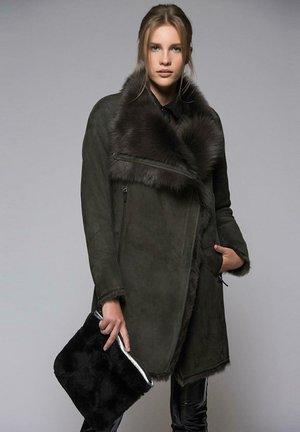 Klasický kabát - anthracite