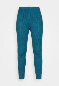 WAL G. - TAJ LOUNGE TROUSERS - Trousers - dark teal blue - 3
