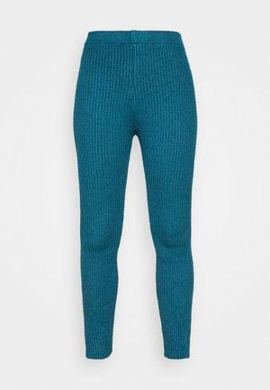 TAJ LOUNGE TROUSERS - Pantaloni - dark teal blue