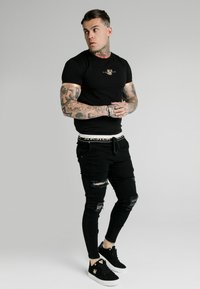 SIKSILK - SIKSILK DELUXE LOW RISE - Jeans Skinny Fit - black - 1