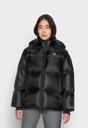SHINY  - Down jacket - black