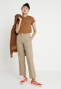 Dickies - STOCKDALE - T-shirts basic - brown duck - 1
