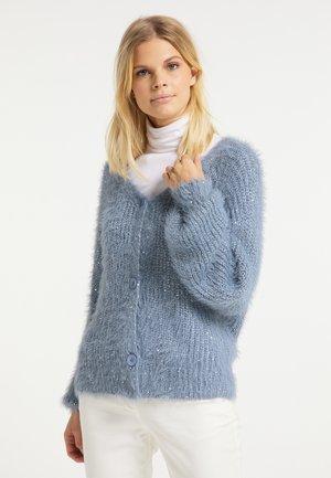Kardigan - grau blau