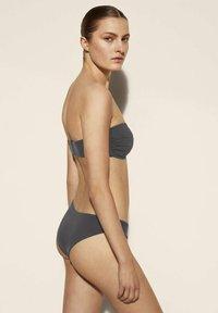 Massimo Dutti - Bikini top - dark blue - 1