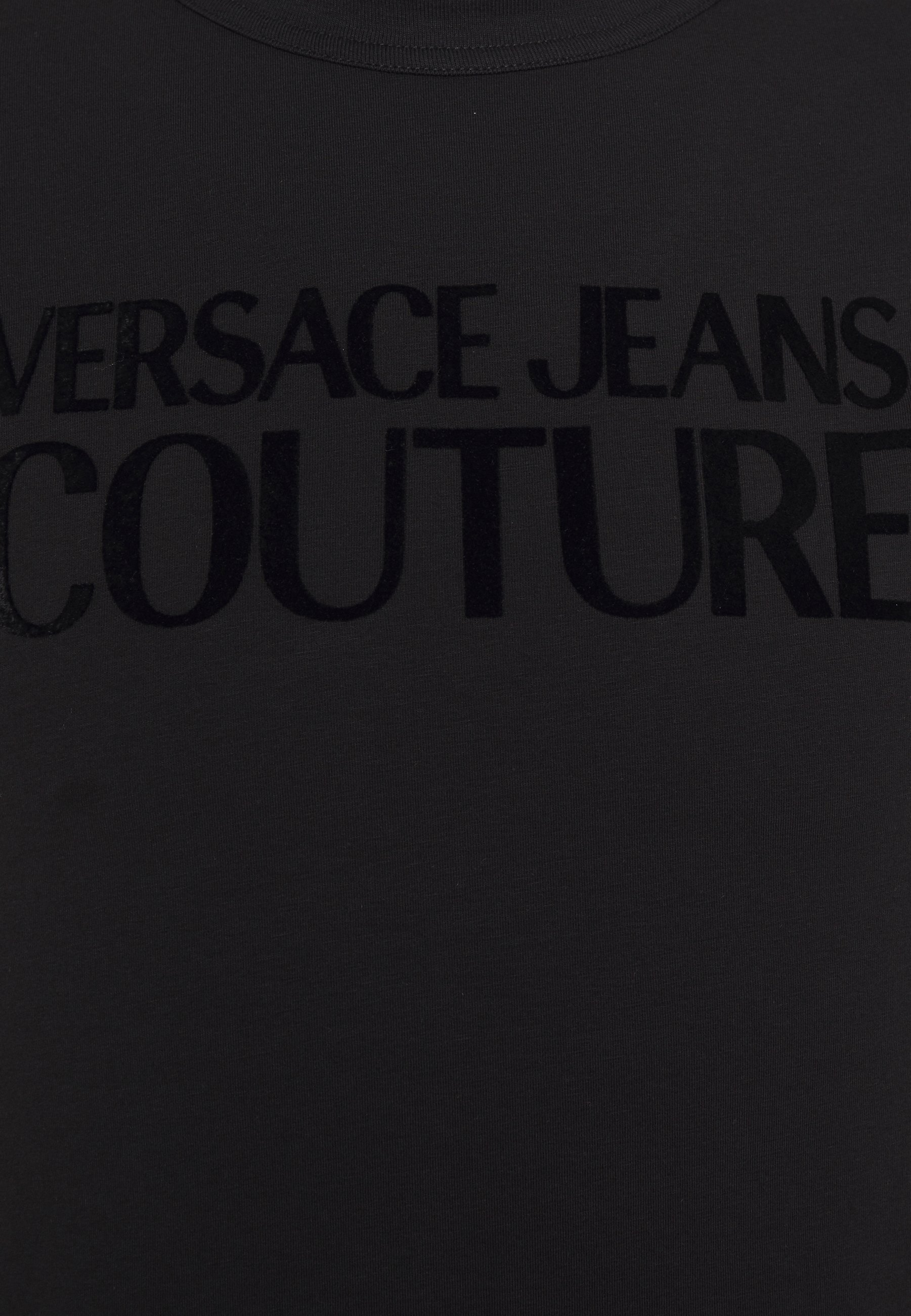 Versace Jeans Couture T-shirts Med Print - Nero/svart