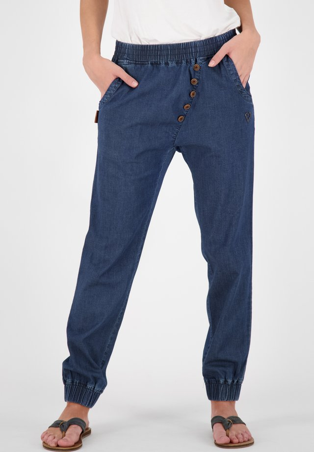 Tracksuit bottoms - dark denim