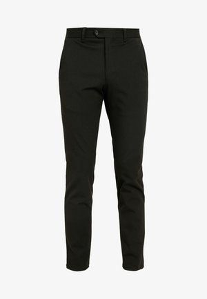 SLHSLIM-CARLO FLEX PANTS - Trousers - black