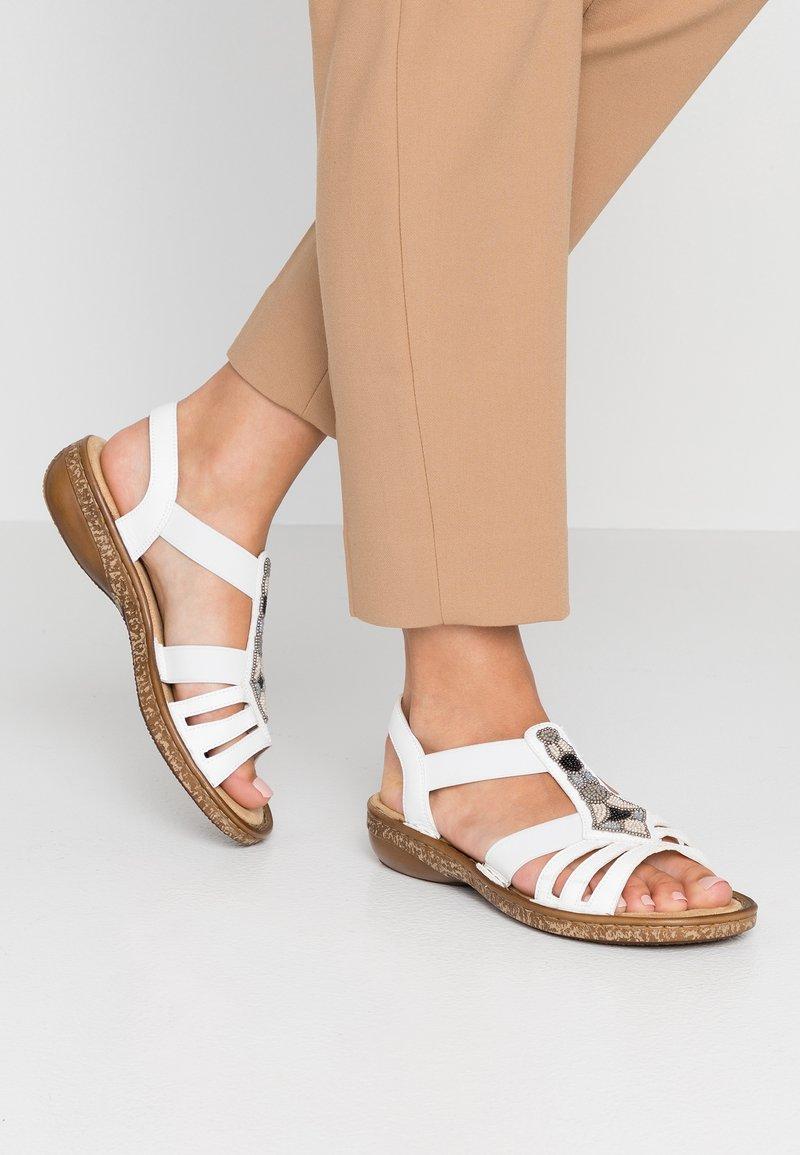 Rieker - Sandals - weiß