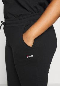 Fila Plus - EIDER PANT - Pantaloni sportivi - black - 4