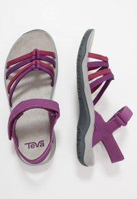 Teva - ELZADA - Chodecké sandály - gloxinia/red plum - 1