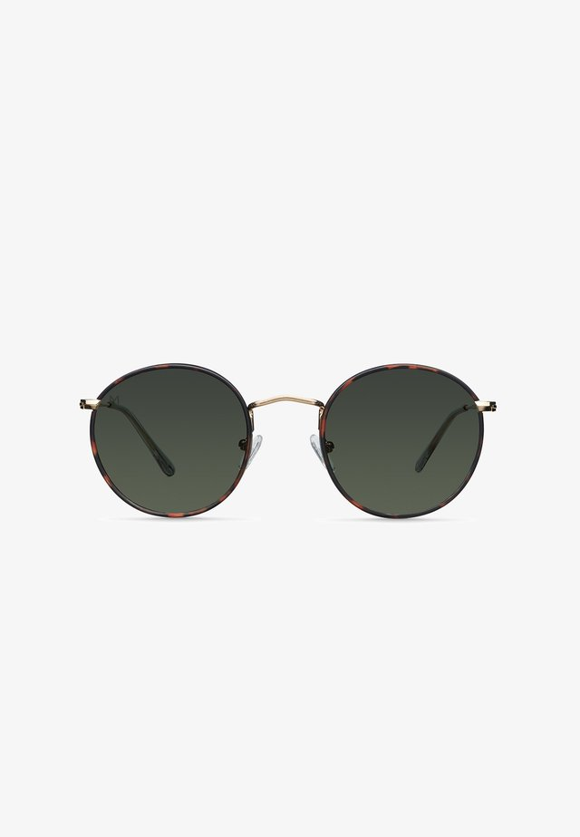 YEDEI - Sunglasses - gold tigris olive