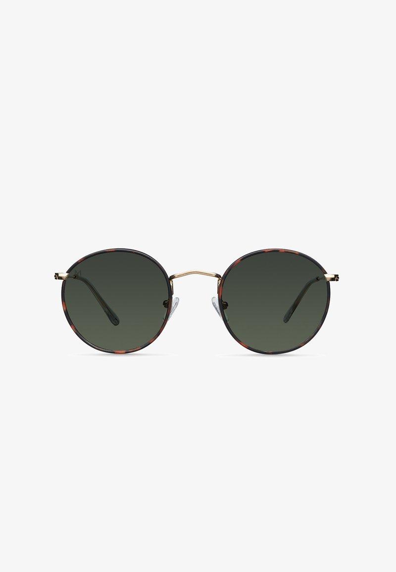 Meller - YEDEI - Sunglasses - gold tigris olive