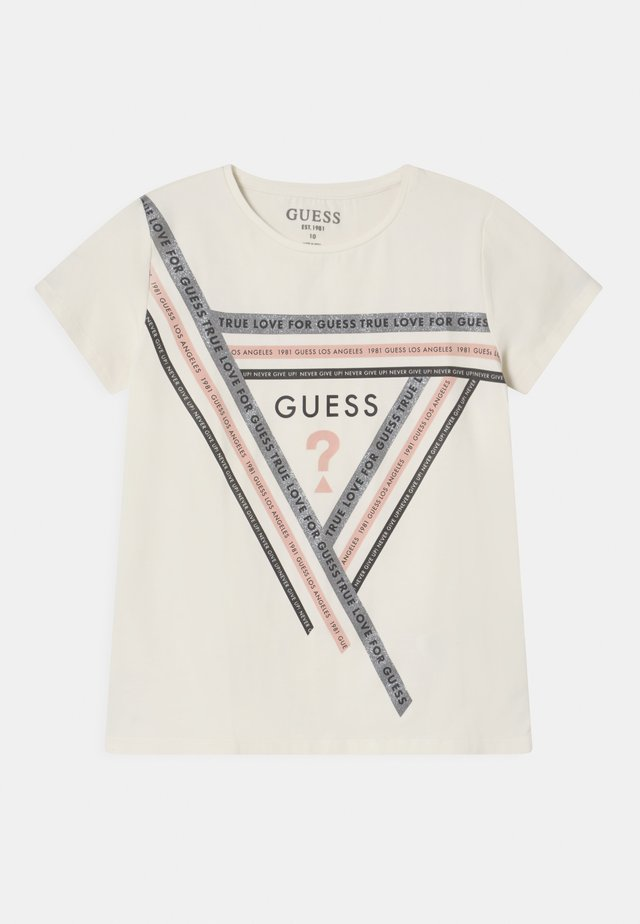 JUNIOR - T-shirt con stampa - off-white