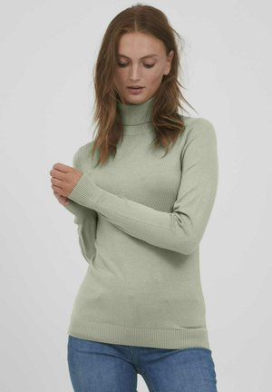 BYPIMBA ROLLNECK  - Jumper - seagrass