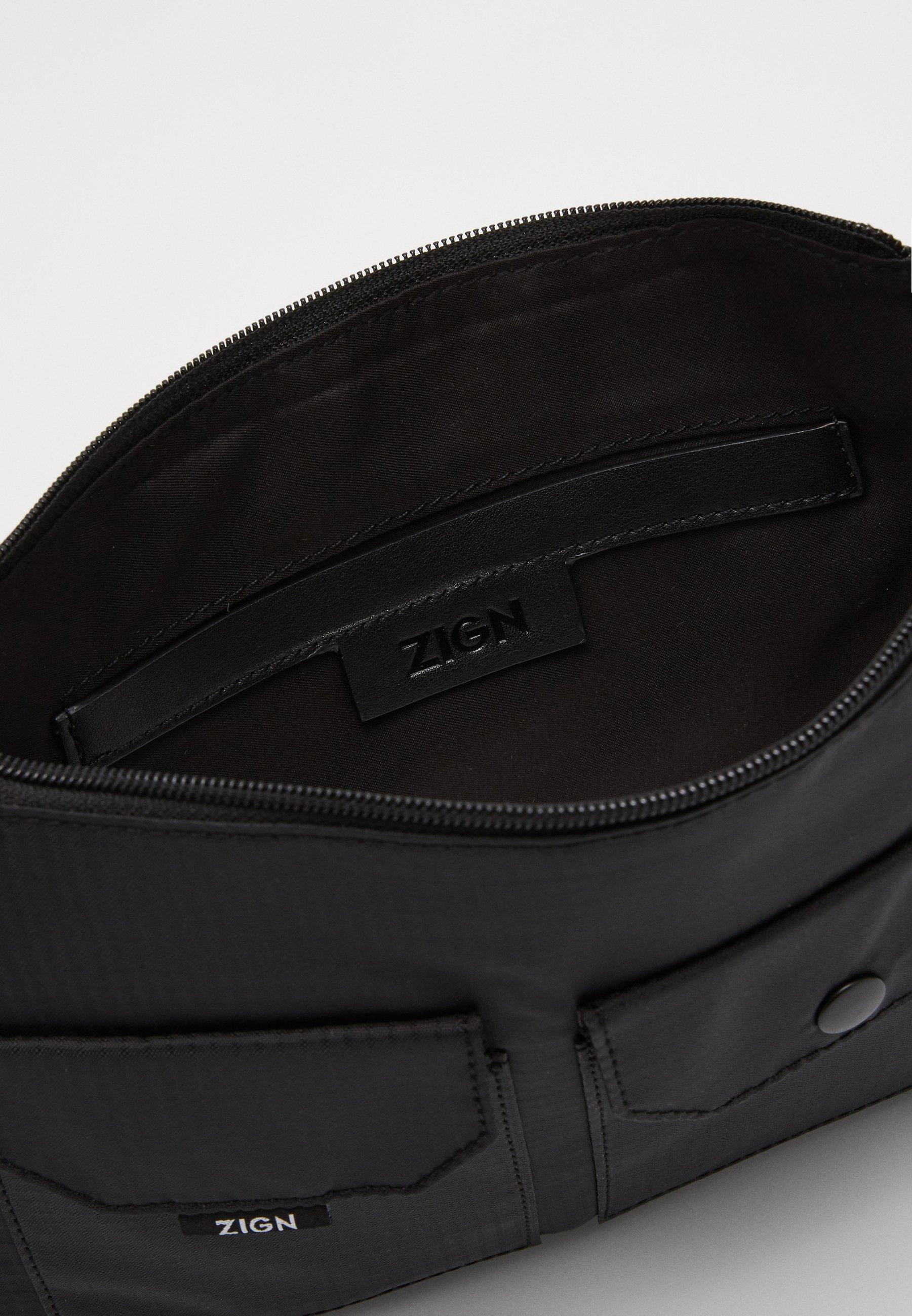 Zign Skulderveske - black/svart X6xHC9aAZLL5iKC