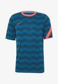 Nike Performance - DRY - Camiseta estampada - laser blue/laser blue/laser crimson - 0