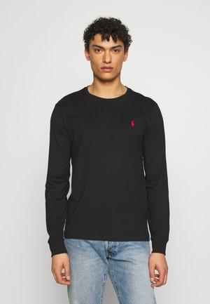 LONG SLEEVE - Långärmad tröja - polo black