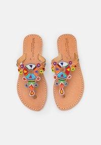 laidbacklondon - SIMBA FLAT - T-bar sandals - tribal - 5