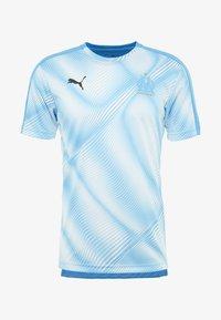 Puma - OLYMPIQUE MARSEILLE STADIUM D OLYMPIQUE MARSEILLE - Club wear - bleu azur/puma white - 3