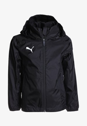 LIGA TRAINING RAIN JACKET CORE - Hardshellová bunda - black/white