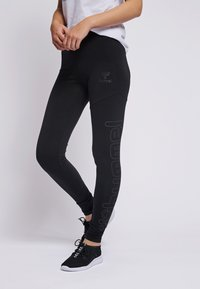 Hummel - HMLZILLE - Leggings - black - 0