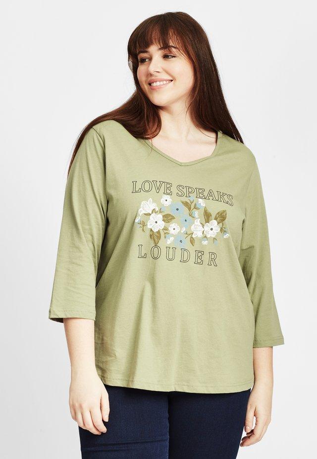 Långärmad tröja - dark green