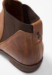 HUB - KIM - Ankle Boot - cognac - 2