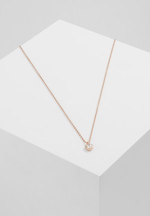 HEART PENDANT - Halskette - rose gold-coloured