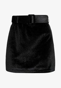 Fashion Union - CANDY SKIRT - Miniskjørt - black - 4