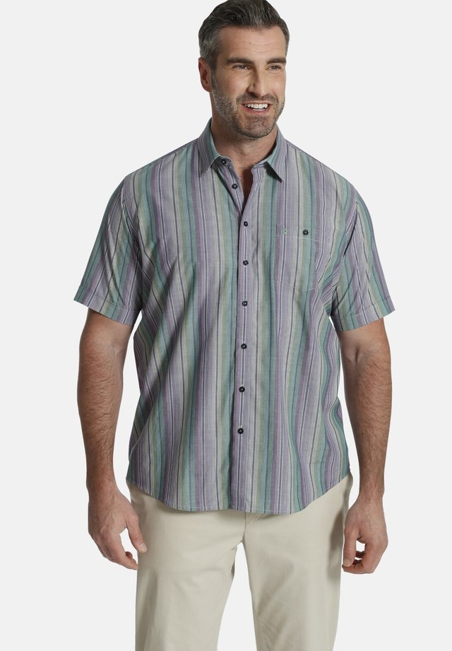 KURZARMHEMD  - Overhemd - lila gestreift