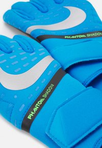 Nike Performance - PHANTOM SHADOW - Goalkeeping gloves - photo blue/black/silver - 2