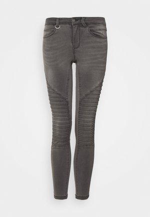 ONLROYAL BIKER  - Jeans Skinny Fit - dark grey denim