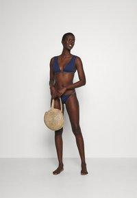 Women Secret - HALTER REMOVABLE PAD - Bikini top - blue - 1