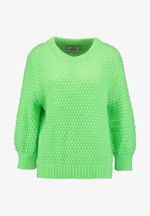 SIGNAL KRANOLA - Strikkegenser - neon green
